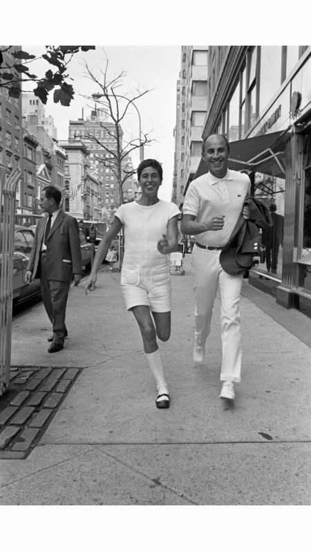 Coqueline and Andre Courreges