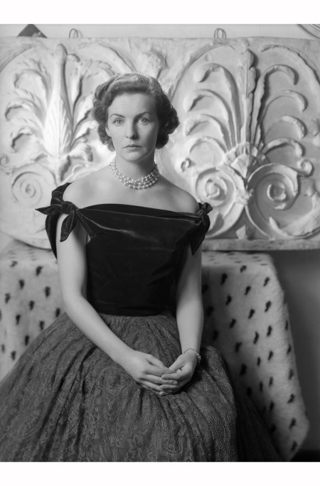 Deborah, Duchess of Devonshire, photographed by Cecil Beaton, December 1949