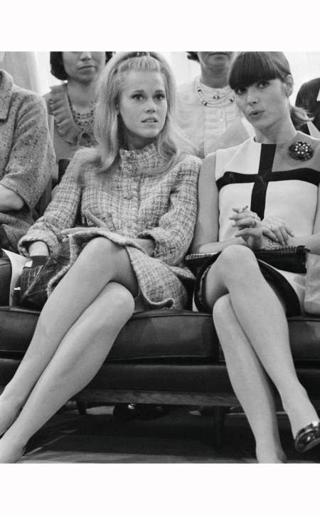 Elsa Martinelli and Jane Fonde oct 1965 © Giancarlo Botti