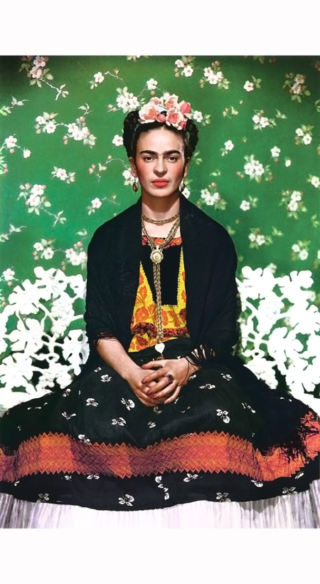 Frida Kahlo - Vogue October - 1937 - Nicholas Murray