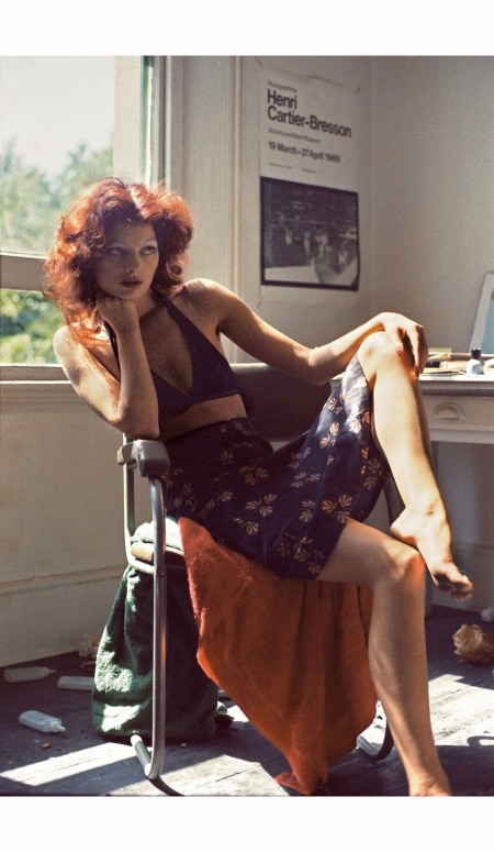 Gaia Mitchell in her bedroom 1971 © Peter Schlesinger