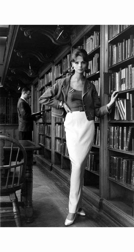 Iris Binchi 1959 Blazer Fashion  © Alfred Eisenstaed