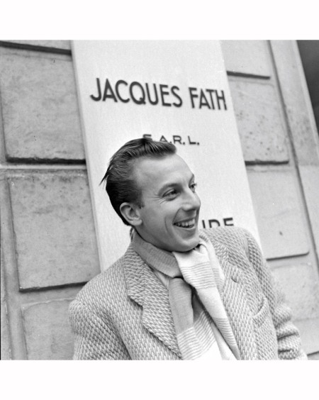 Jacques Fath Paris Fashions 1944 © David E Scherman