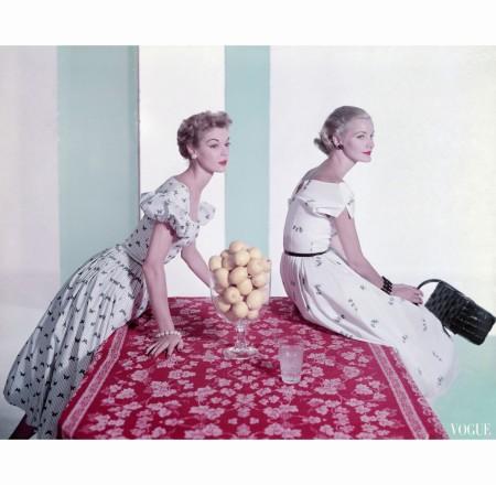 Jean Patchett Sunny Harnett dec 1951
