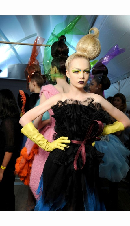 John Galliano for Christian Dior Haute Couture 2010 run mid