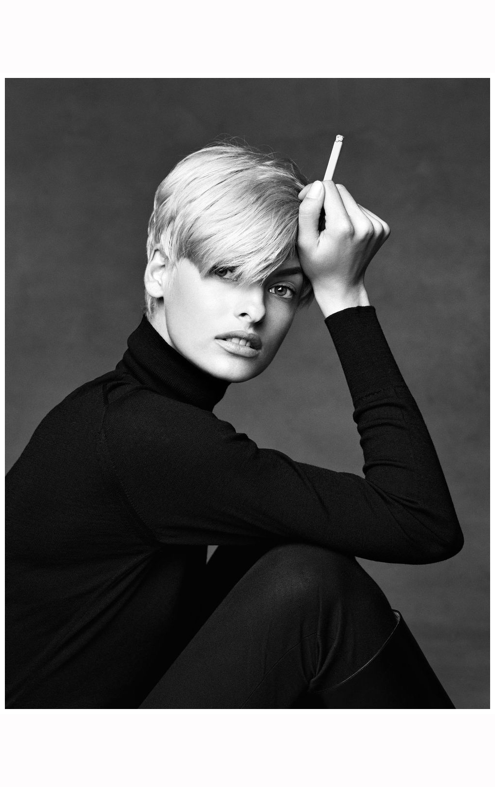 Linda Evangelista New York 1990 169 Pleasurephoto