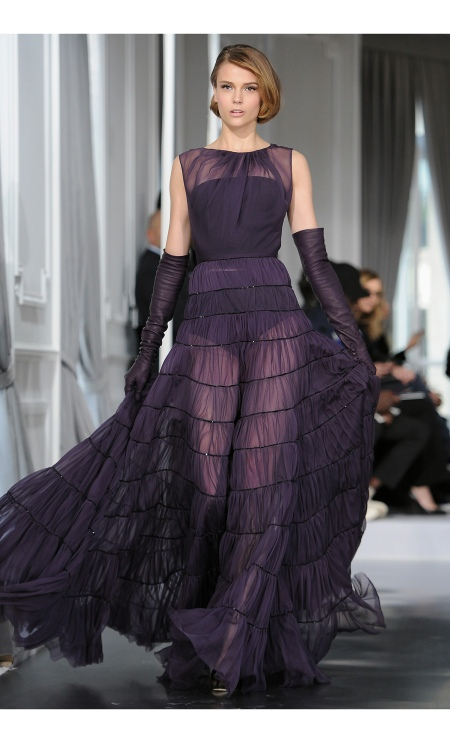 Martha Streck Dior Haute-Couture 2012 show as part of Paris Fashion Week at Salons Christian Dior on January 23, 2012 in Paris, France.  © Pascal Le Segretain