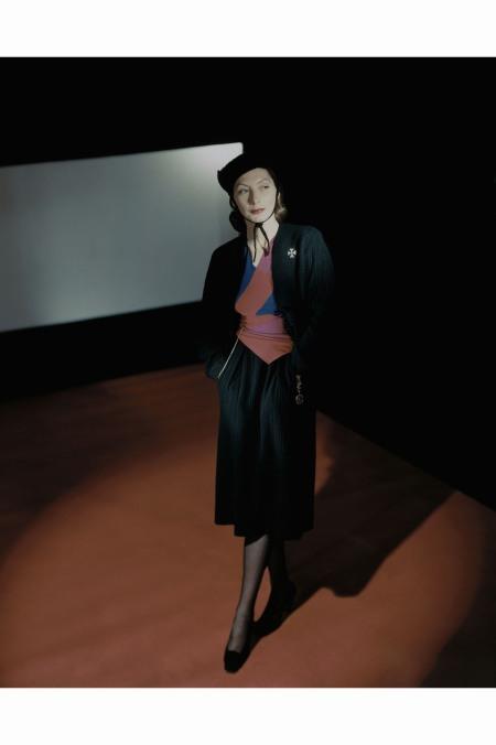 Mme.Valentina Fashion Designer Valentina December 1942