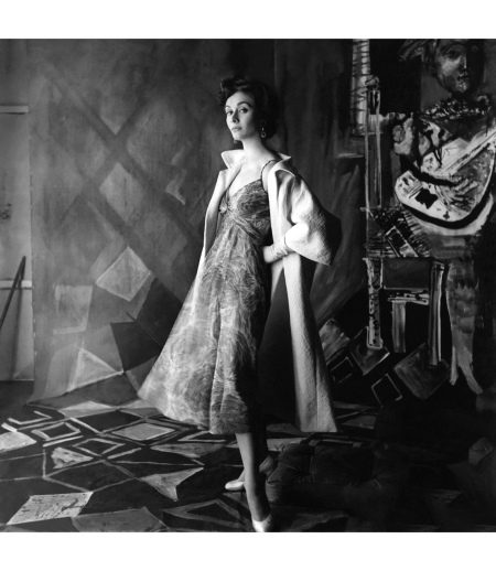 Model GIGI Both pieces are by Griffe -Vogue March 1954