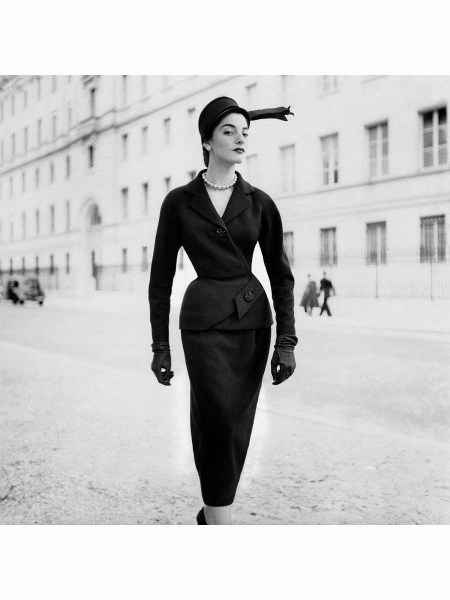 Model Wearing Patou suit © Robert Randall