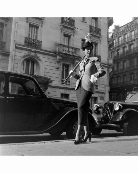 Paris Fashion b Mar 1948 © Mark Kauffman