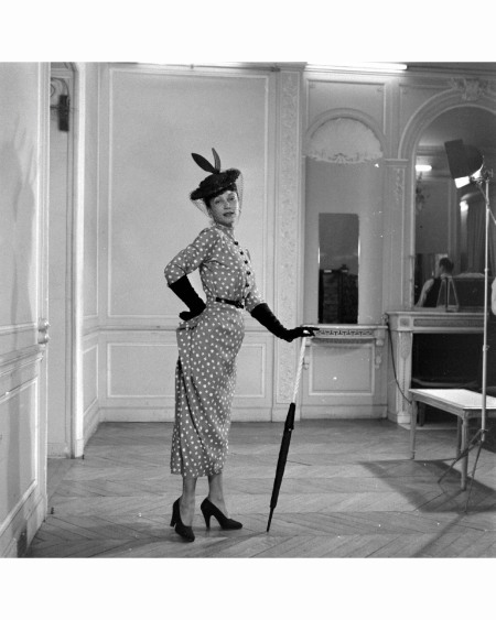 Paris Fashion Mar 1948 © Mark Kauffman dior