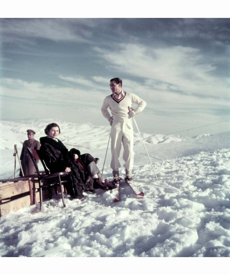 Royal flush … 1952 The shah of Iran and his wife, Princess Soraya, in the Alborz mountains Dimitri Kessel