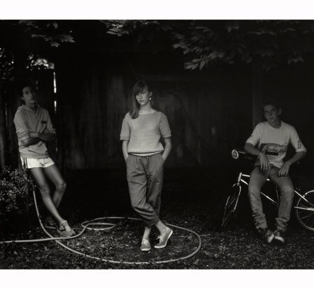 Sally Mann, ''Untitled'' from the ''At Twelve'' Series (Rebecca and the Hose), 1983-1985