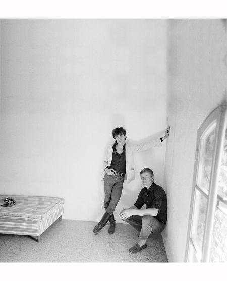 Sam Wagstaff and Robert Mapplethorpe Arles, France, 1981 © Teresa Engle