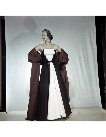 Women's Collections Spring 1951 By Fashion Designers Of Paris Tristan MAURICE