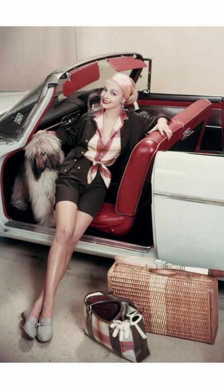 Glamour May 1957 © Frances McLaughlin-Gill