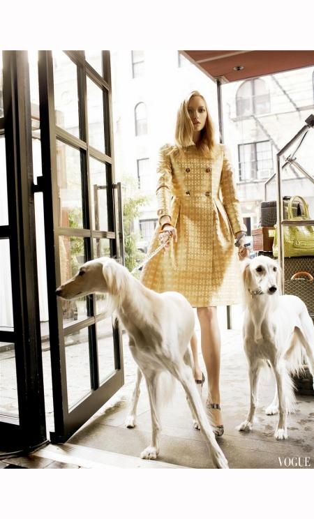Gemma Ward Lily Donaldson Vogue 2006 Steven Meisel a