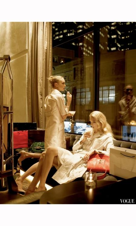 Gemma Ward Lily Donaldson Vogue 2006 Steven Meisel b