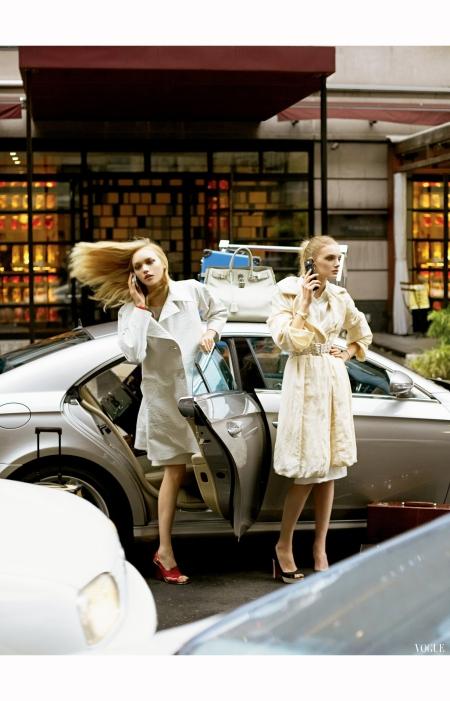 Gemma Ward Lily Donaldson Vogue 2006 Steven Meisel