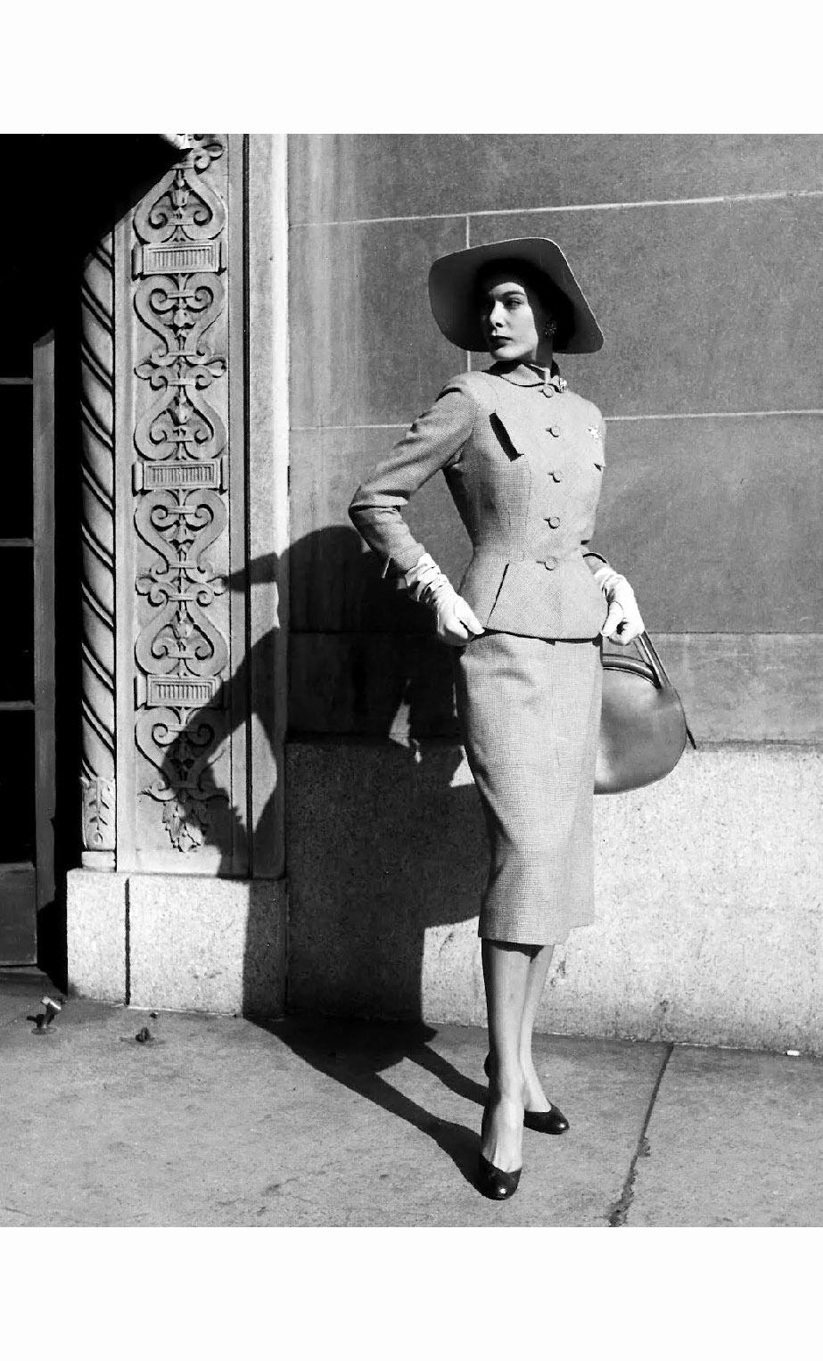 gjon mili © pleasurephoto larry aldrich spring suit 1951