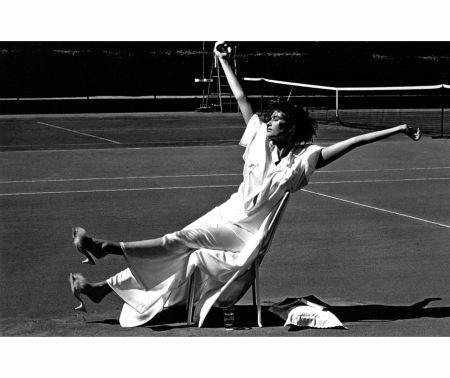 Rosemary McGrotha Vogue's Health Style Vogue Jan 1985 Denis Piel