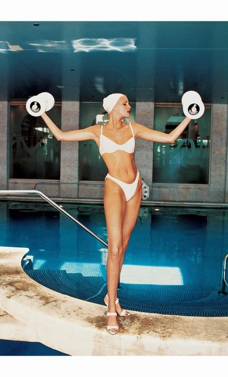 Nadja Auermann  - Ellen von Unwerth, Vogue, June 1994