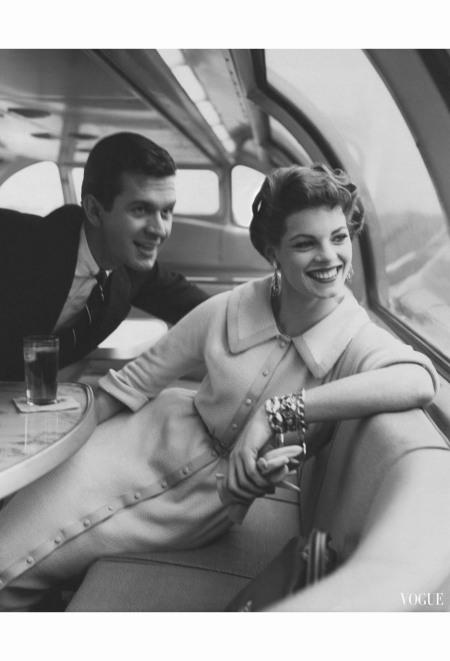 Vogue – March 1954 Condè Nast Archive Photo Karen Radkai