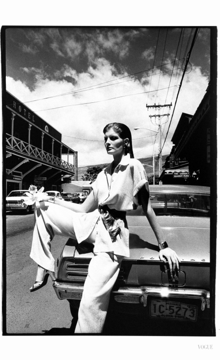 Rene Russo - Vogue Dec 1974 © Helmut Newton