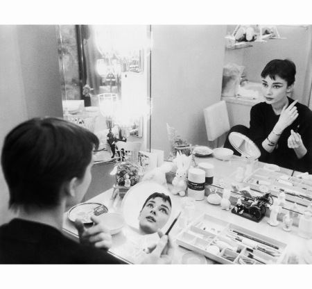 audrey-hepburn-is-her-dressing-room-during-the-filming-of-%22sabrina%22-1954-mark-shaw