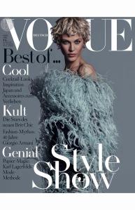 Aymeline Valade for Vogue Germany April 2015