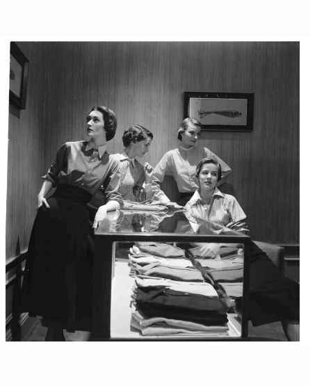 dovima-l-nan-rees-2nd-l-and-two-other-models-wearing-man-tailored-shirts-by-mcmullen-co-1949-gordon-parks-bn-gf