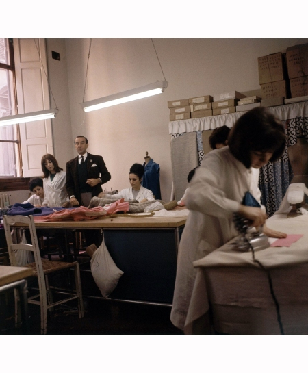 emilio-pucci-n-a-workroom-overseeing-workers-vogue-march-1964-horst-p-horst