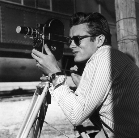 james-dean-on-the-set-of-giant-1955