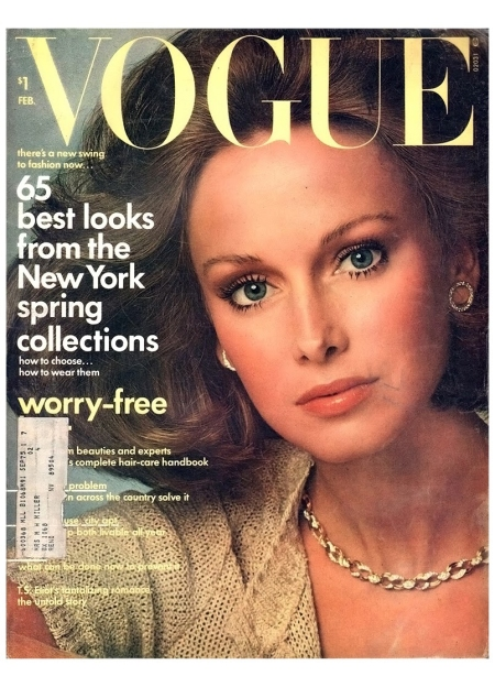 Karen Graham Vogue February 1974 Francesco Scavullo