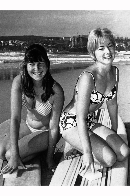 Australia Maureen Horsley and Linda Benson