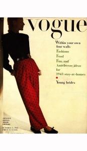 model-barbara-tullgren-in-red-polka-dot-pants-and-black-top
