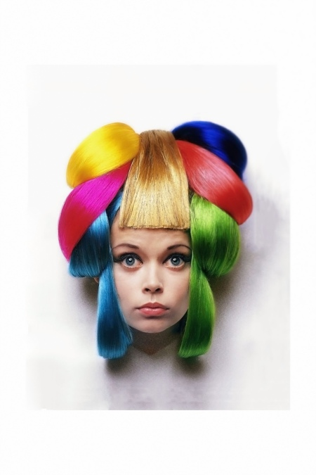 mouche-wearing-brightly-colored-dynel-hair-pieces-1960s-clive-arrowsmith