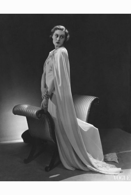 murial-williams-wearing-heavy-white-gown-with-cape-vogue-dec-1934-lusha-nelson
