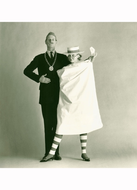 norman-parkinson-and-celia-hammond-1962