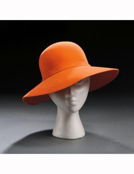 orange-felt-hat-halston-new-york-1970s