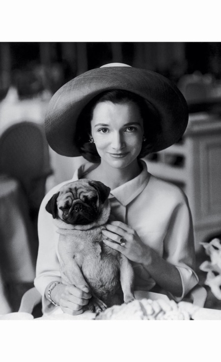 radziwill-with-her-pug-thomas-photographed-for-vogue-in-1960-henry-clarke