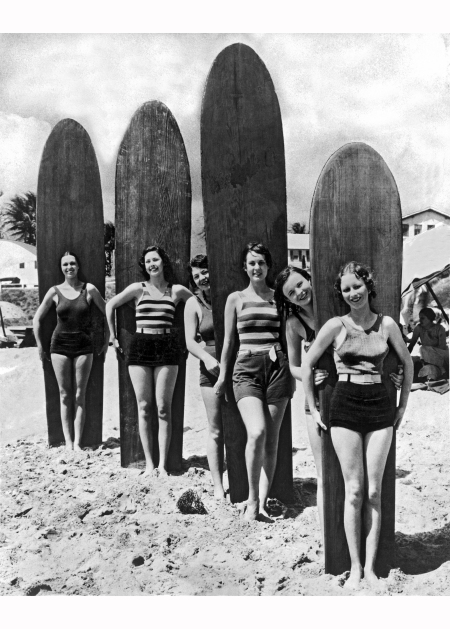 California Surfer Girls