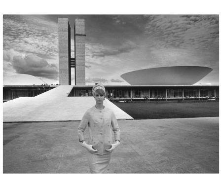 gunel-person-brasilia-parliament-building-1964-photo-f-c-gundlach