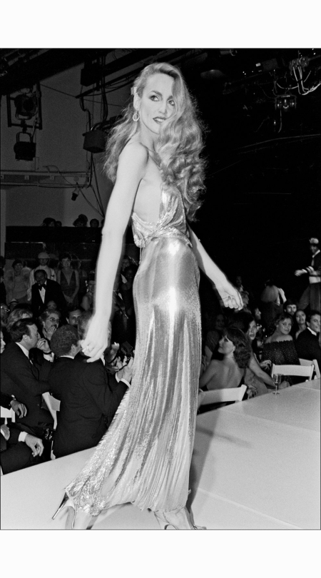 jerry-hall-models-in-the-fashion-makers-show-at-studio-54-in-1978