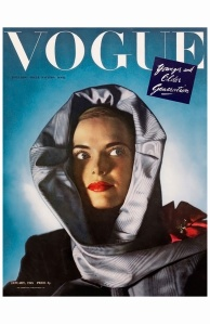 leslie-venable-wearing-light-blue-moire-hood-by-hattie-carnegi-vogue-jan-1945-john-rawlings