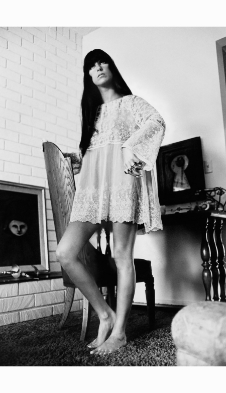 arnaud-de-rosnay-captures-cher-in-a-lace-dress-in-1967-x