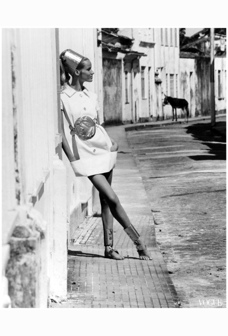 black-and-white-beauty-veruschka-models-a-white-mini-dress-with-aluminum-accessories-in-the-caribbean-1968-vogue