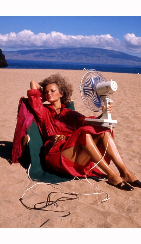 cheryl-tiegs-battles-a-hot-day-on-the-beach-vogue-december-1974-helmut-newton-vogue-december-1974