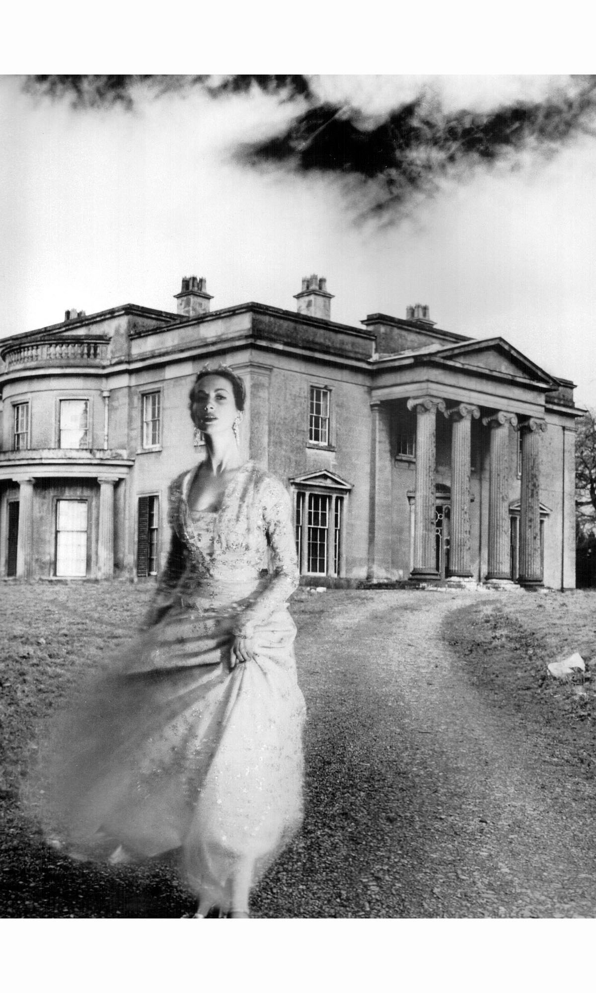 norman hartnell copy pleasurephoto della oake wearing evening gown by norman hartnell